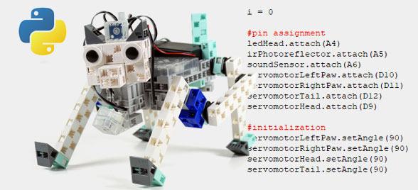 apprendre python robot