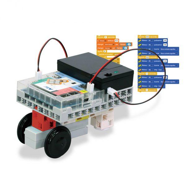 Kit robotique école primaire pour apprendre la programmation
