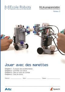 Atelier Programmation Robot Educatif Enfant 3 4b5 7 8 Ans
