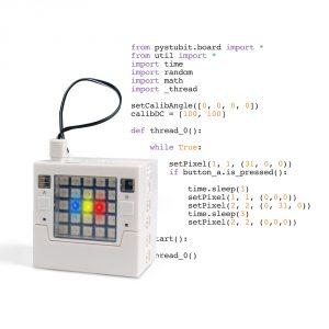kit robotique pour apprendre le Python au lycée