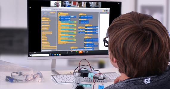 cours à distance programmation robotique