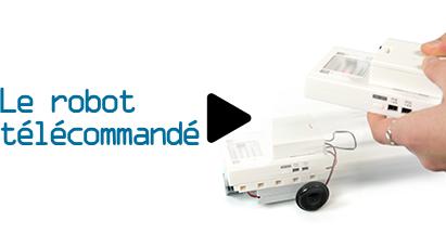 cours de programmation adulte n°5 : le robot télécommandé